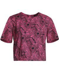 Marni - Printed Cotton-poplin Top - Lyst