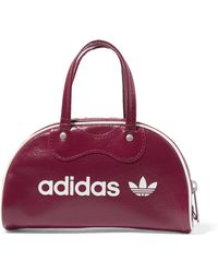 adidas Originals - Printed Faux Leather Tote - Lyst