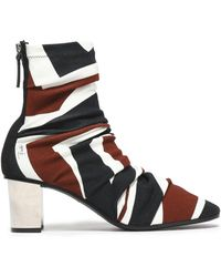 Emilio Pucci - Printed Jersey Sock Boots - Lyst