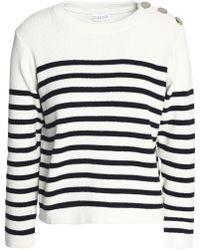 Claudie Pierlot - Merlin Striped Cotton Jumper - Lyst