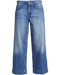 Ba&sh - High-rise Wide-leg Jeans - Lyst