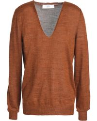 Vanessa Bruno Athé - Woman Knitted Jumper Light Brown - Lyst