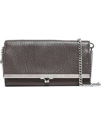 Maison Margiela - Textured-leather Wallet - Lyst