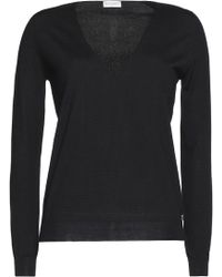 Vionnet - Lace-paneled Wool, Silk And Cashmere-blend Jumper - Lyst