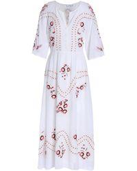 Vilshenko - 3/4 Length Dress - Lyst
