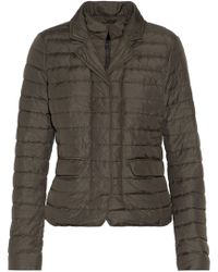 Duvetica - Egina Quilted Shell Down Jacket Army Green - Lyst