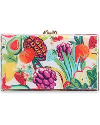 Charlotte Olympia - Embellished Perspex Box Clutch - Lyst