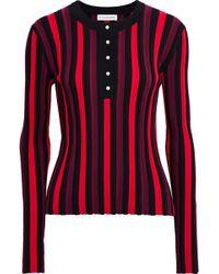 Altuzarra - Alessio Striped Ribbed-knit Top - Lyst