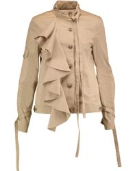 Robert Rodriguez | Ruffled Cotton-twill Jacket | Lyst