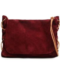 Zimmermann - Mini Suede Shoulder Bag - Lyst