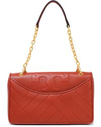 Tory Burch - Quilted Leather Shoulder Bag - Lyst
