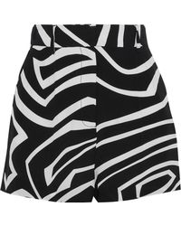 Emilio Pucci - Printed Silk Crepe De Chine Shorts - Lyst