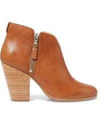 Rag & Bone - Margot Leather Ankle Boot - Lyst