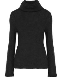 Brandon Maxwell - Layered Stretch-knit Turtleneck Sweater - Lyst