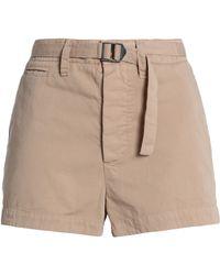 James Perse - Cotton-gabardine Shorts - Lyst