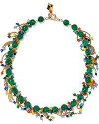 Rosantica - Rossini Gold-tone Bead Necklace - Lyst