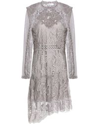 Zimmermann - Appliquéd Tulle And Swiss Dot-paneled Lace Dress - Lyst