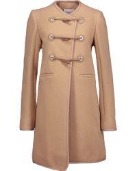 Carven - Wool-blend Coat - Lyst