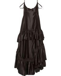 Fusivel lamina maxi dress