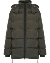 c44260fc4f57 W118 By Walter Baker Farrah Faux Fur-trimmed Coated-shell Hooded ...