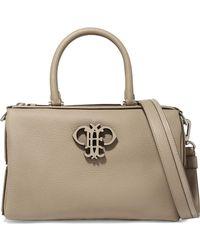 Emilio Pucci - Textured-leather Shoulder Bag - Lyst