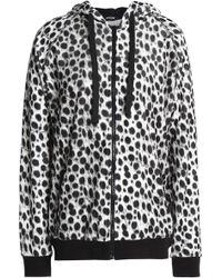 Just Cavalli - Printed Cotton-blend Fleece Sweatshirt - Lyst