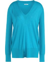 TOME - Wrap-effect Wool, Silk And Cashmere-blend Sweater - Lyst