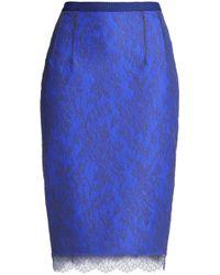 Emilio de la Morena - Corded Lace Skirt - Lyst