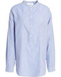 Vanessa Bruno Athé - Striped Cotton Shirt - Lyst