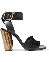 Jil Sander - Leather Sandals - Lyst