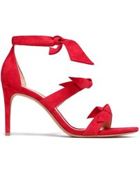 Alexandre Birman - Knotted Leather Sandals - Lyst