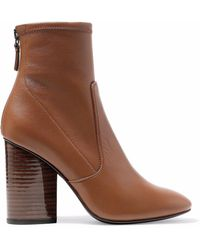 MERCEDES CASTILLO - Dessa Stretch-leather Ankle Boots - Lyst
