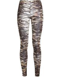 Majestic Filatures - Zebra-print Jersey Leggings Animal Print - Lyst