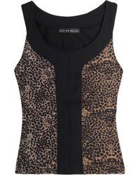 Live The Process - Leopard-print Stretch Top Animal Print - Lyst