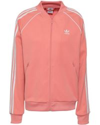adidas Originals - French Terry Track Jacket - Lyst