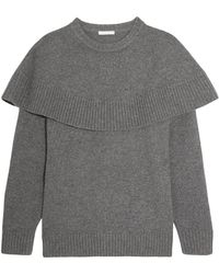 Chloé - Layered Cashmere Sweater - Lyst
