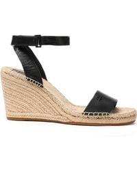 a6f4f0e750264 Tory Burch - Women s Bima Espadrille Platform Wedge Sandals - Lyst