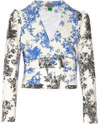 Duro Olowu - Toile De Jouy-print Cotton-blend Jacket - Lyst