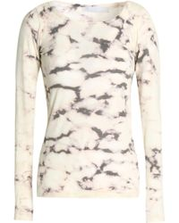Kain - Tie-dyed Cotton And Modal-blend Top - Lyst