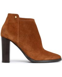 Jimmy Choo - Hart Suede Ankle Boots Light Brown - Lyst