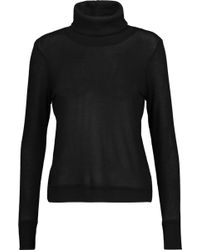Kain - Creyton Striped Stretch-modal Turtleneck Sweater - Lyst
