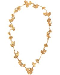 Aurelie Bidermann - Aurélie Bidermann Woman 18-karat Gold-plated Necklace Gold - Lyst