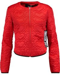 Love Moschino - Quilted Shell Jacket - Lyst