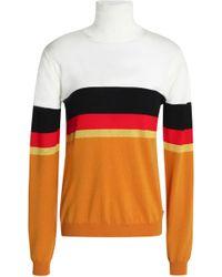 Vionnet - Color-block Wool Turtleneck Jumper - Lyst