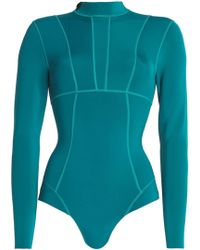 Mikoh Swimwear - Neoprene Rash Guard - Lyst