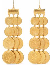 Ben-Amun - Gold-tone Earrings - Lyst