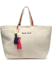 Claudie Pierlot - Embroidered Canvas Tote - Lyst
