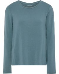 Majestic Filatures - Woman French Terry Top Teal - Lyst