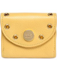 See By Chloé - Embellished Textured-leather Coin Purse - Lyst