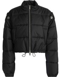 3.1 Phillip Lim - Woman Quilted Shell Down Jacket Black - Lyst